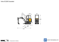Volvo EC20E Excavator