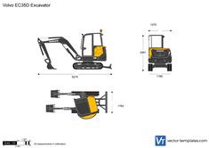 Volvo EC35D Excavator