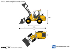 Volvo L25H Compact Wheel Loader