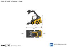 Volvo MC100C Skid Steer Loader