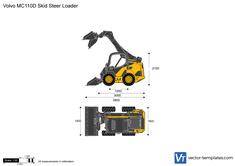 Volvo MC110D Skid Steer Loader