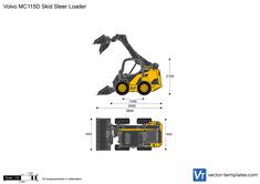 Volvo MC115D Skid Steer Loader