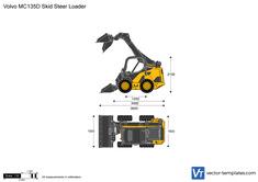 Volvo MC135D Skid Steer Loader