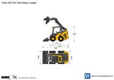 Volvo MC70C Skid Steer Loader