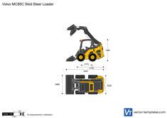 Volvo MC85C Skid Steer Loader
