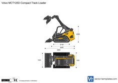 Volvo MCT125D Compact Track Loader