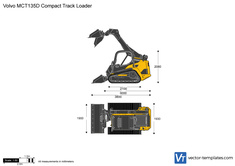 Volvo MCT135D Compact Track Loader