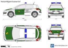 Renault Megane Guardia Civil