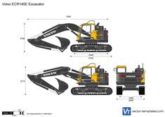 Volvo ECR145E Excavator