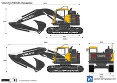 Volvo ECR235EL Excavator