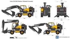 Volvo EW180E Medium Wheeled Excavator