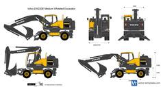 Volvo EW220E Medium Wheeled Excavator