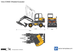 Volvo EW60E Wheeled Excavator