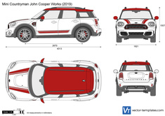 Mini Countryman John Cooper Works F60