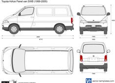 Toyota HiAce Panel van SWB