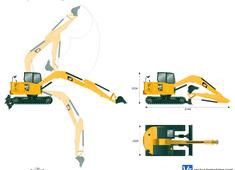 Caterpillar 307.5 Mini Hydraulic Excavator