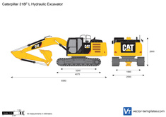 Caterpillar 318F L Hydraulic Excavator