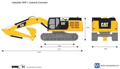 Caterpillar 349F L Hydraulic Excavator