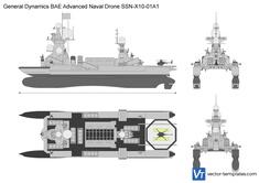 General Dynamics BAE Advanced Naval Drone SSN-X10-01A1