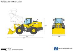 Komatsu 200-8 Wheel Loader