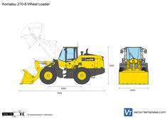 Komatsu 270-8 Wheel Loader