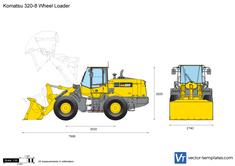 Komatsu 320-8 Wheel Loader