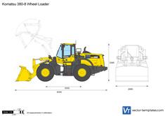 Komatsu 380-8 Wheel Loader