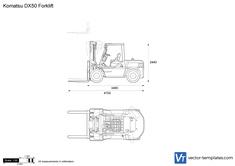 Komatsu DX50 Forklift