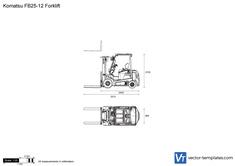 Komatsu FB25-12 Forklift