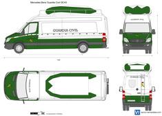 Mercedes-Benz Guardia Civil GEAS