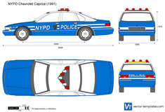 Chevrolet Caprice NYPD Police car