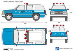 NYPD Chevrolet Tahoe