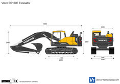 Volvo EC160E Excavator