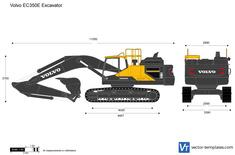 Volvo EC350E Excavator