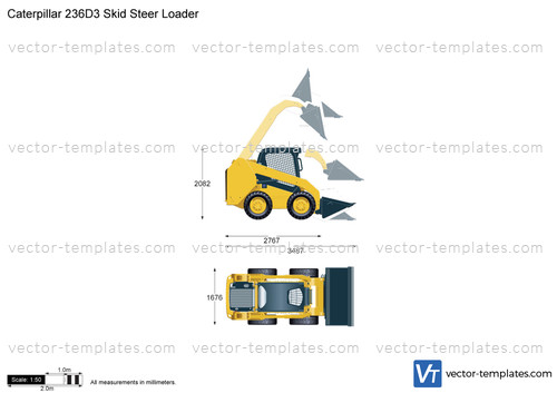 Caterpillar 236D3 Skid Steer Loader