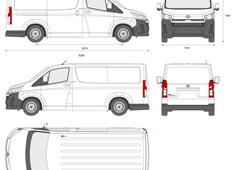 Toyota HiAce Van L1H1