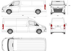 Toyota HiAce Van L2H2