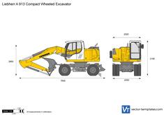 Liebherr A 913 Compact Wheeled Excavator