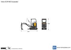 Volvo ECR18E Excavator