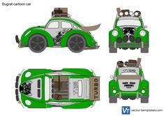 Bugrat cartoon car