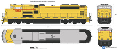Electro-Motive Diesel SD70ACe Union Pacific