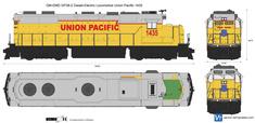 GM-EMD GP38-2 Diesel-Electric Locomotive Union Pacific 1435