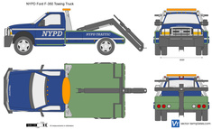NYPD Ford F-350 Towing Truck