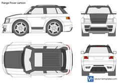 Range Rover cartoon