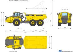Komatsu HM400-5 Articulated Truck