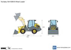 Komatsu WA100M-8 Wheel Loader