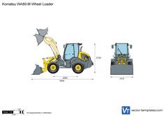 Komatsu WA80-M Wheel Loader