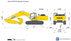 Kato HD1430-R5 Hydraulic Excavator