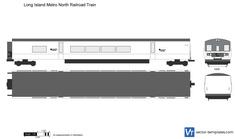 Long Island Metro North Railroad Train