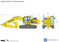 Komatsu HB215LC-2 Hydraulic Excavator